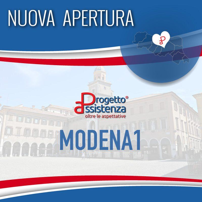 Nuova Apertura: Modena1